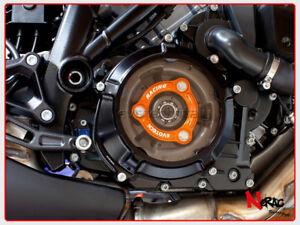EVOTECH Schutz Kupplung KTM 1190 RC8 Superduke Adventure 1290 Black/Orange