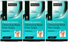 Deep Cleansing Charcoal Nose Pore Strips (3 x 6 pack) Blackhead Removal