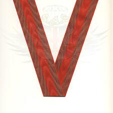 BRITISH ARMY RIBBON MEDAL BELGIAN CROIX DE GUERRE 1941 WOVEN RED & GREEN TRIM UK