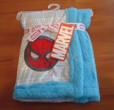 SPIDERMAN LOGO  BLANKET / 30'' BY 30'' / SUPER SOFT FLEECE / MARVEL BRAND