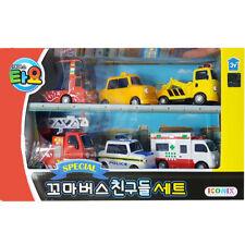 Little Bus TAYO's Friends Set Kis Toy 6ea-Pat,Nuri,Frank,Alice,Toto,Cito