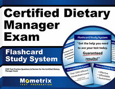 Certified Dietary Manager Exam Flashcard Study System
