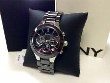 Brand New DKNY Black Ceramic Chronograph Ladie's Watch ORIGINAL NIB $250.00 !!