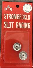 Strombecker Slot Car Racing Alumium Wheels Kit 8060 - New Old Stock Nos