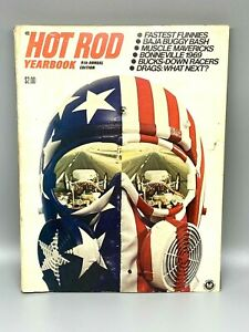 1970 Hot Rod Yearbook 9th annual | cars drag racing AMAZING photos history