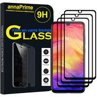 """3 Glass Film Toughened Screen Protector Xiaomi Redmi Note 7S 6.3 """" M1901F71"""