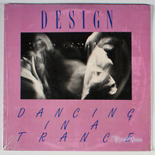 "Design - Dancing in a Trance (1984) [SEALED] Vinyl 12"" Single EP • New Wave"