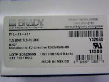 2 Rolls Brady TLS 2200 TLS-PC LINK #PTL-21-427 Labels
