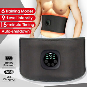 EMS Muscle Stimulator Belt Electric Abdominal ABS Fitness Massage Trainer Device