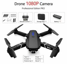 New Drone FPV Foldable Quadcopter GPS 1080P HD Camera Black Drone