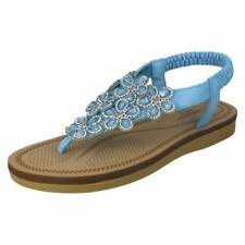 Sandales et chaussures de plage noirs Kickers pour femme