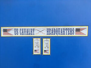 Playmobil Western * US Cavalry Headquarters*autocollant - Sticker Maison Western
