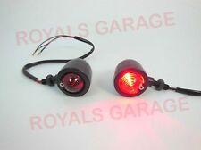 bobber chopper  black indicators blinker for royal bikes classic 25