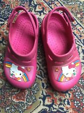 Brand Hello Kitty Pink Clogs / Sandals Size Girls 10