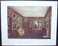 "W. H. Pyne: ""Old Dining Room, Kensington Palace"" 1818"