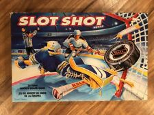 SLOT SHOT Vintage HOCKEY NHL Board Game Team Logo Stickers Included