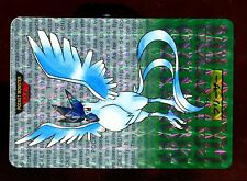 POKEMON BANDAI 1996 GREEN MONSTERS COLLECTION N°  144 ARTIKODIN ARTICUNO HOLO