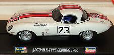 Revell/Monogram 8394 Jaguar E-Type Sebring 1963 #23  **** NO CASE **** 1/32