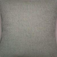 A 16 Inch Cushion Cover In Laura Ashley Oscar Eau De Nil Fabric