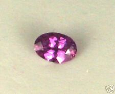 Purple Pink Sapphire, Natural & UNHEATED, 7x5MM Oval