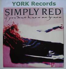 """Simply Red-si no me conoces por ahora-ex 7"""" SINGLE"""