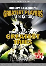 Rugby League's Greatest Tries & Players Of The Century (2 Disc Set) NRL DVD