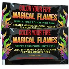 New listing Magical Flames Create Colorful & Vibrant Flames for Fire Pit - (12 Pack) - Campf