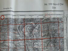 Die 199 NO, carte seconde guerre, WW2