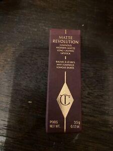 "CHARLOTTE TILBURY MATTE REVOLUTION ""PILLOW TALK"" NEW 100% AUTHENTIC FREESHIP"