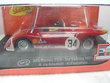 SEALED New SLOT.IT 1/32 Slot Car 34 ALFA ROMEO 33/3 1971 Sebring Can-am