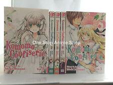 Komomo Confiserie brand new manga set volumes 1-5 paperback english complete
