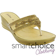62d1eb267 Ladies Silver   Gold Diamond Sequin Pattern Occasion Wedding Party Sandals