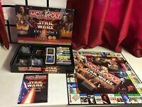 Star Wars Monopoly Episode 1 Collectors Edition. Complete Set. Superb Condition