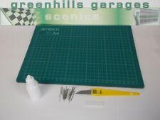 Greenhills Building Assembly Kit Inc. PVA Glue + Pins + Craft Knife + Cutting...
