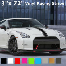 3''x72'' 183x8 cm Bande Autocollant Stickers Vinyle Decal Auto Camion SUV Racing