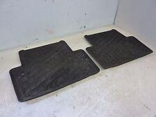 original Fußmatten Gummimatten hinten Paar Volvo V70 II 2003 30660729 30660728