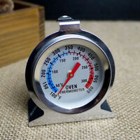 New Home Stainless Steel Temperature Oven Thermometer Gauge Kitchen Food ^P