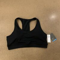 GapFit Women's Size Large True Black T-Back Sports Bra NWT
