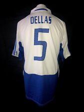 Greece 2004-06 Vintage Away Football Shirt #5 Dellas - Excellent Condition