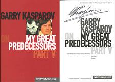 Garry Kasparov SIGNED AUTOGRAPHED My Great Predecessors Part V HC 1st Ed/1st