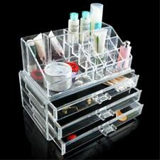 Versatile Acrylic Jewelry Cosmetic Makeup Brush Storage Display Organizer Box