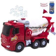 Kids Bump & Go Bubble Blowing Trucks Princess with Lights Sounds Various Design