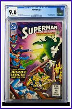 Superman #74 CGC Graded 9.6 DC December 1992 White Pages Comic Book