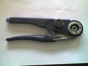 BUCHANAN Model M22520/1-01 Blue Crimping Tool - H1