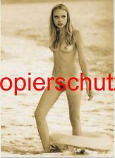Frau Nackt Akt in Sepia Foto F POSTKARTE 10,5 x 14,8 cm (DIN A 6)