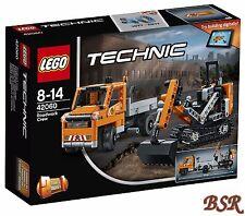 LEGO® Technik: 42060 Straßenbau-Fahrzeuge & 0.-€ Versand & OVP & NEU !