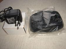 NUOVO CARICABATTERIE Maxon CHS1-01 TWIN PER S1 Licenza Gratis handportable (Regno Unito & Euro Spina)