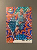 2019-20 Panini Mosaic #240 Cody Martin Reactive Blue Prizm RC Charlotte Hornets