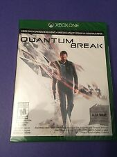 Quantum Break *Launch Edition + Bonus Alan Wake DLC* (XBOX ONE) NEW