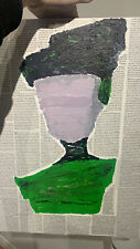 """""""Themis"""" acrylic painting on canvas by original artist (multimedia)"""